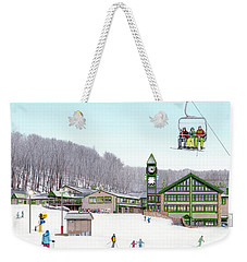 1st Snow At Hidden Valley Weekender Tote Bag