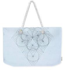 Diamond Quanta Weekender Tote Bag
