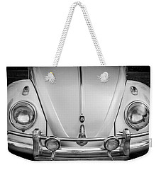 1960 Volkswagen Beetle Vw Bug   Bw Weekender Tote Bag