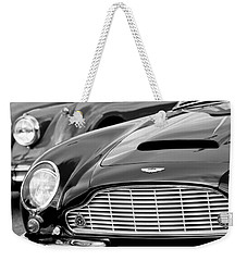 1965 Aston Martin Db6 Short Chassis Volante Weekender Tote Bag