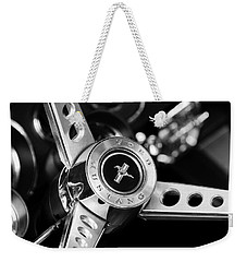1969 Ford Mustang Mach 1 Steering Wheel Weekender Tote Bag
