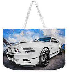 2014 Ford Mustang Gt Cs Painted  Weekender Tote Bag