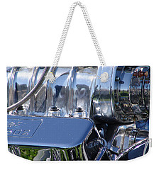 502 Big Block Weekender Tote Bag