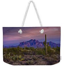 A Beautiful Desert Evening  Weekender Tote Bag