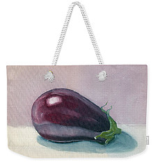 A Is For Aubergine Weekender Tote Bag
