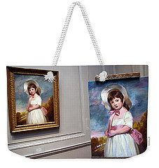 Weekender Tote Bag featuring the photograph A Painting Of A Painting by Cora Wandel