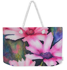 A Touch Of Pink Weekender Tote Bag by Chrisann Ellis