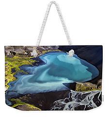 Aerial Photography Weekender Tote Bag by Gunnar Orn Arnason