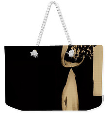 Weekender Tote Bag featuring the photograph Alone  by Jessica Shelton