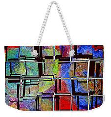 Altered Circles Weekender Tote Bag