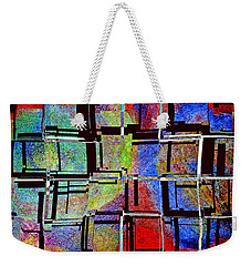 Altered Circles Weekender Tote Bag by Jim Whalen
