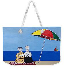 Always Together Weekender Tote Bag by Barbara McMahon