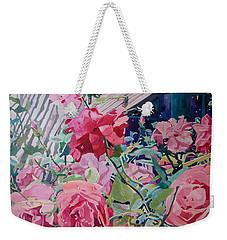 American Beauty Weekender Tote Bag