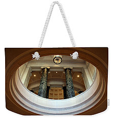 Weekender Tote Bag featuring the photograph An Oculus by Cora Wandel