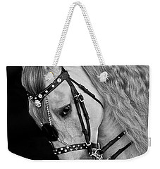 Weekender Tote Bag featuring the photograph Andalusian D9098 by Wes and Dotty Weber