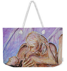 Angel In Love Weekender Tote Bag