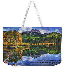 Approaching Storm  Weekender Tote Bag by Priscilla Burgers