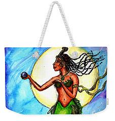 Arania Queen Of The Black Pearl Weekender Tote Bag