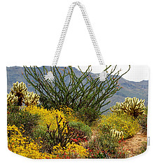 Arizona Springtime Weekender Tote Bag