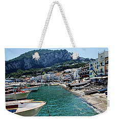 Arrival To Capri  Weekender Tote Bag