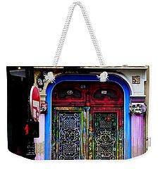 Artistic Door In Paris France Weekender Tote Bag