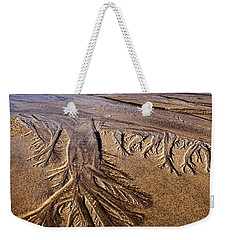 Weekender Tote Bag featuring the photograph Artwork Of The Tides by Gary Slawsky