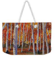 Aspen Forest Weekender Tote Bag