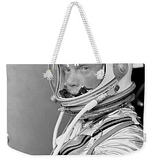 Astronaut John Glenn Weekender Tote Bag by War Is Hell Store