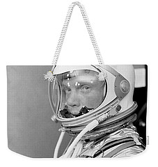 Astronaut John Glenn - Mercury Atlas 6 Weekender Tote Bag