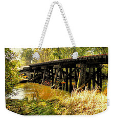 Autumn Travels Weekender Tote Bag