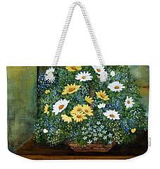 Basket Of Daisies  Weekender Tote Bag