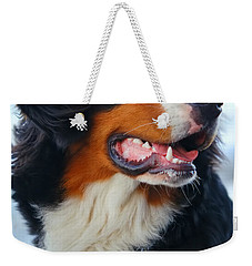 Beautiful Dog Portrait Weekender Tote Bag