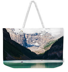 Beautiful Lake Louise Weekender Tote Bag by Cheryl Baxter