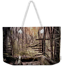 Weekender Tote Bag featuring the photograph Been There by Bonnie Willis