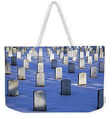 Weekender Tote Bag featuring the photograph Beneath The Snow by Cora Wandel