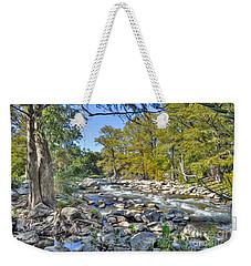 Guadalupe River Weekender Tote Bag by Savannah Gibbs