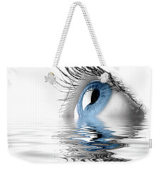 Blue Eye Weekender Tote Bag