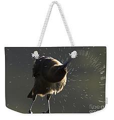Boat Tailed Grackle Weekender Tote Bag