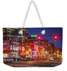 Broadway Street Nashville Weekender Tote Bag