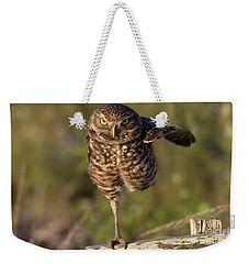Burrowing Owl Photograph Weekender Tote Bag
