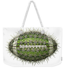 Cactus Football Weekender Tote Bag by James Larkin