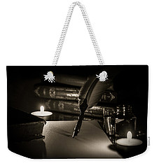 Candlelight Fantasia Weekender Tote Bag by Andrea Mazzocchetti