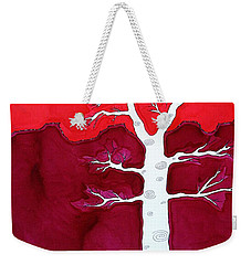 Canyon Tree Original Painting Weekender Tote Bag