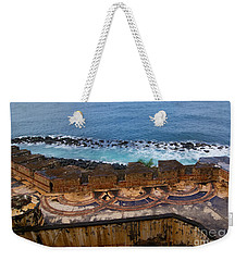 Weekender Tote Bag featuring the photograph Castillo San Felipe Del Morro by Olga Hamilton