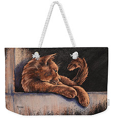Catching The Last Rays Weekender Tote Bag by Cynthia House