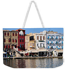Chania City Weekender Tote Bag