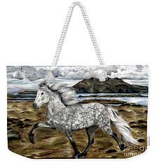 Charismatic Icelandic Horse Weekender Tote Bag