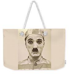 Vintage Charlie Chaplin Weekender Tote Bag by Fred Larucci