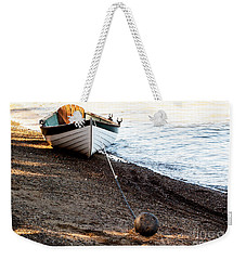 China Beach Rowboat Weekender Tote Bag