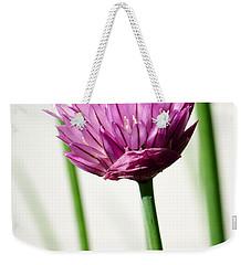 Chives Weekender Tote Bag by Jouko Lehto